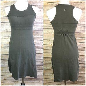 Athleta XS Olive Green Doran Dress